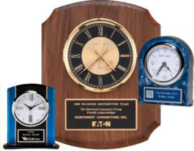 Desk and Wall Clocks