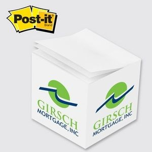 Post-it® Custom Printed Full Cube Notes