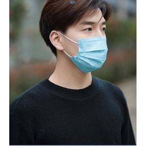 Disposable 3 Layer Filters Non-woven Face Masks (FDA & CE Certified)